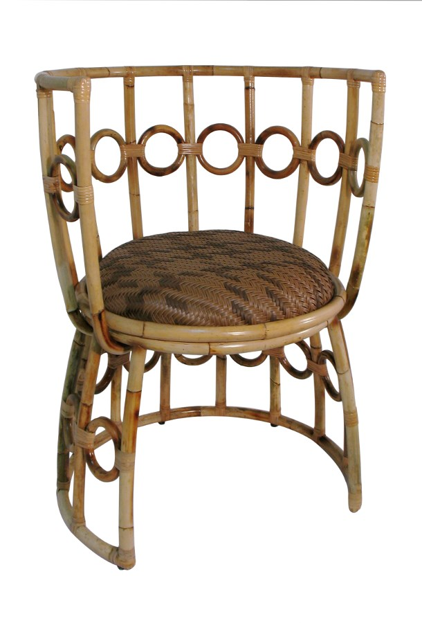 JULIA CHAIR / LOW BACK / RATTAN