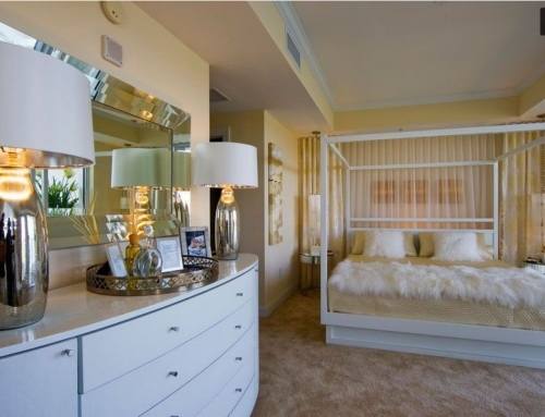 Ethereal Design for Siesta Key Condo Master Suite