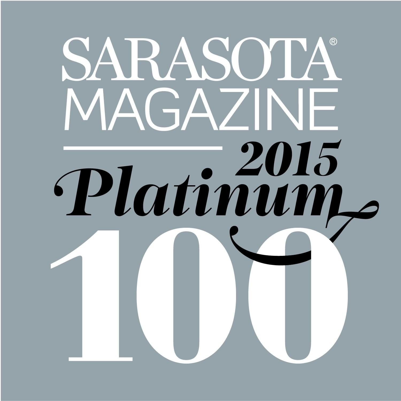 The Platinum 100 by Sarasota Magazine
